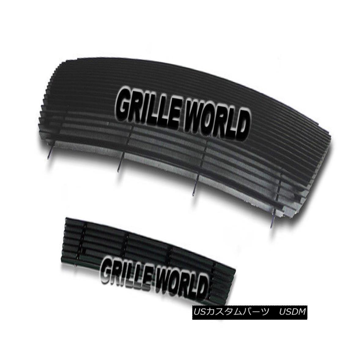 グリル For 04-05 Ford F-150 All Model Black Billet Premium Grille Insert Combo 04-05フォードF-150全モデルブラックビレットプレミアムグリルインサートコンボ用