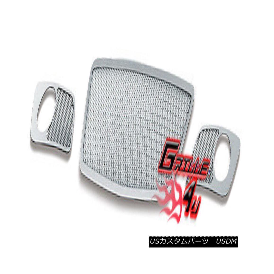 グリル For 06-07 Mazda Speed 6 Bumper Stainless Mesh Premium Grille Insert 06-07マツダスピード6バンパーステンレスメッシュプレミアムグリルインサート