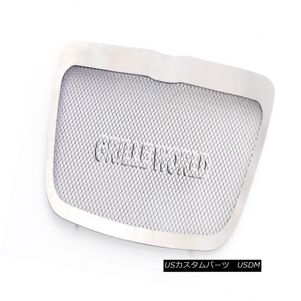 グリル For 2011-2014 Chrysler 300/300C Stainless Steel Mesh Premium Grille Grill 2011-2014クライスラー300 / 300Cステンレスメッシュプレミアムグリルグリル