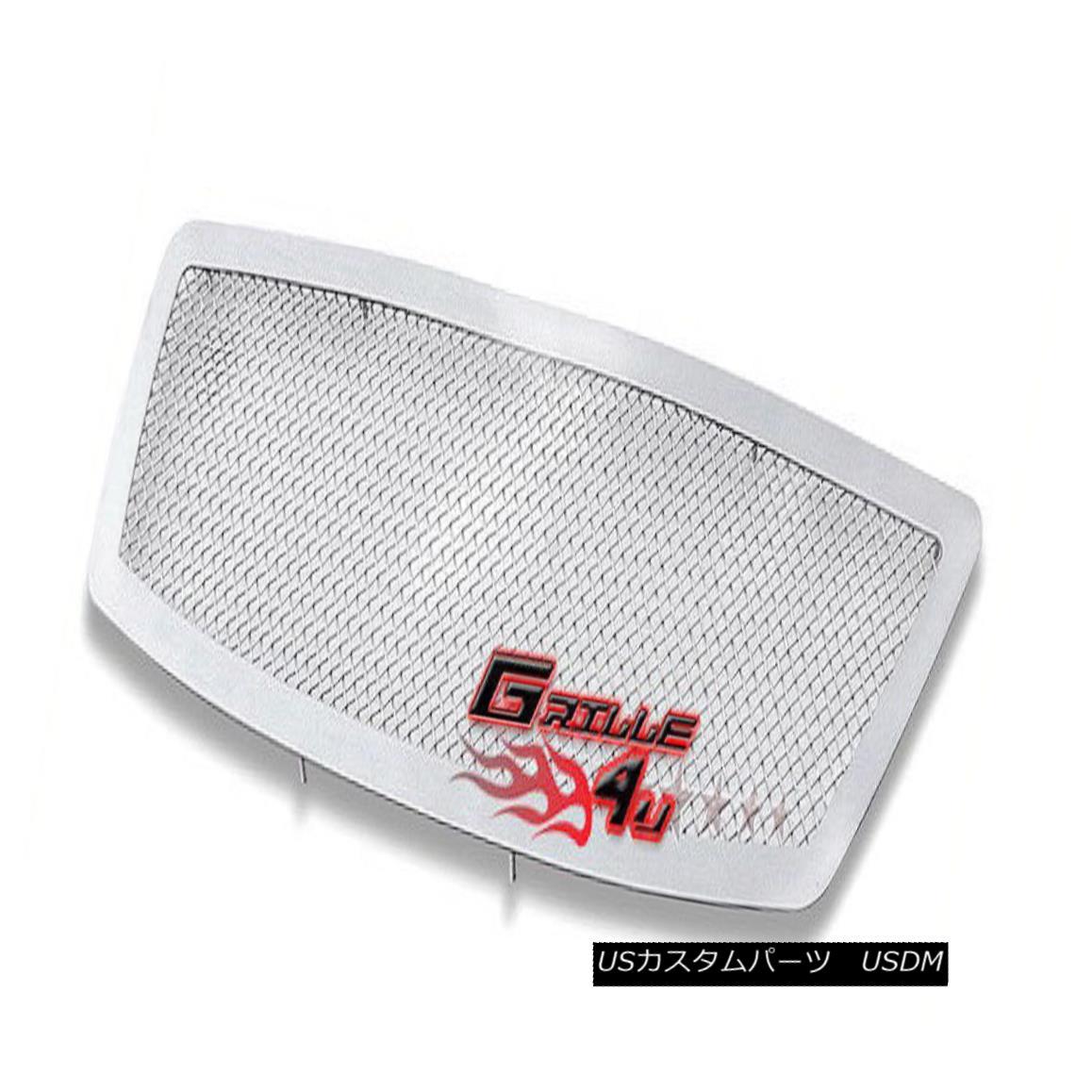 グリル For 03-05 Infiniti FX35/ FX45 Stainless Mesh Premium Grille Insert 03-05インフィニティFX35 / FX45ステンレスメッシュプレミアムグリルインサート