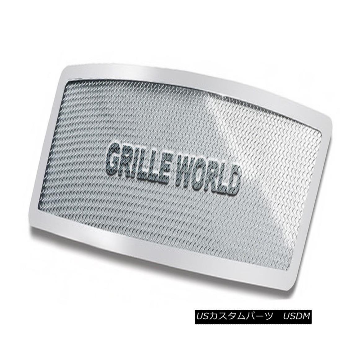 グリル For 04-10 Infiniti QX56 Stainless Steel Mesh Premium Grille Insert 04-10インフィニティQX56ステンレスメッシュプレミアムグリルインサート