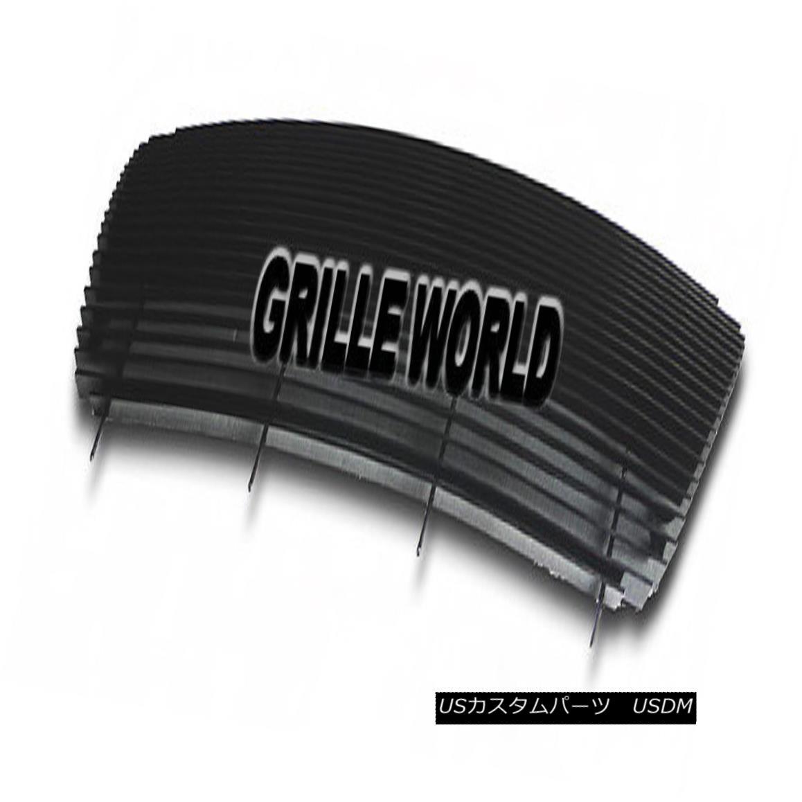 グリル For 04-08 Ford F150 All Model Full Face Black Billet Premium Grille Insert 04-08 For Ford F150オールモデルフルフェイスブラックビレットプレミアムグリルインサート