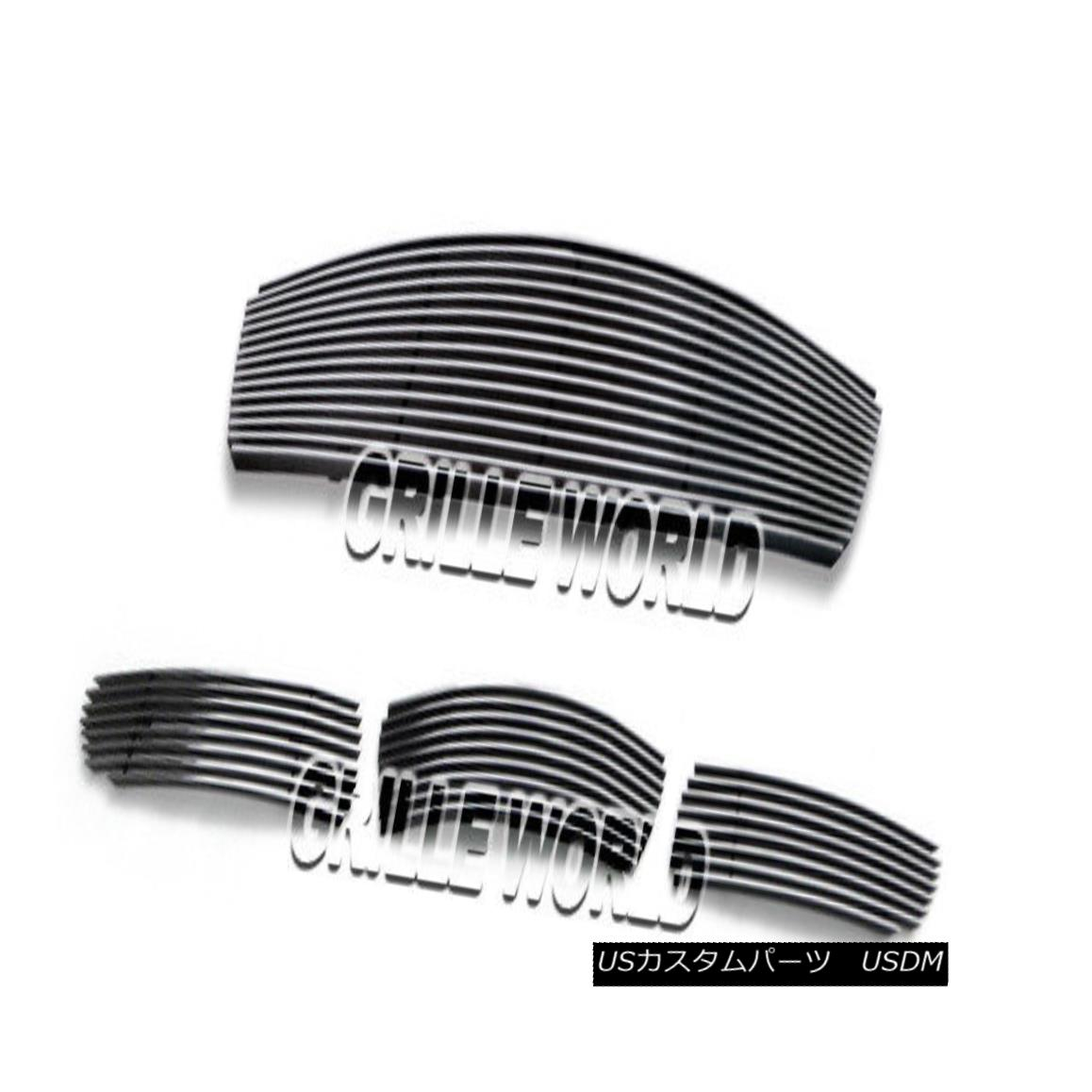 グリル For 07-08 Infiniti G35 Sedan Reg Model Billet Premium Grille Insert Combo 07-08インフィニティG35セダンレギュモデルビレットプレミアムグリルインサートコンボ