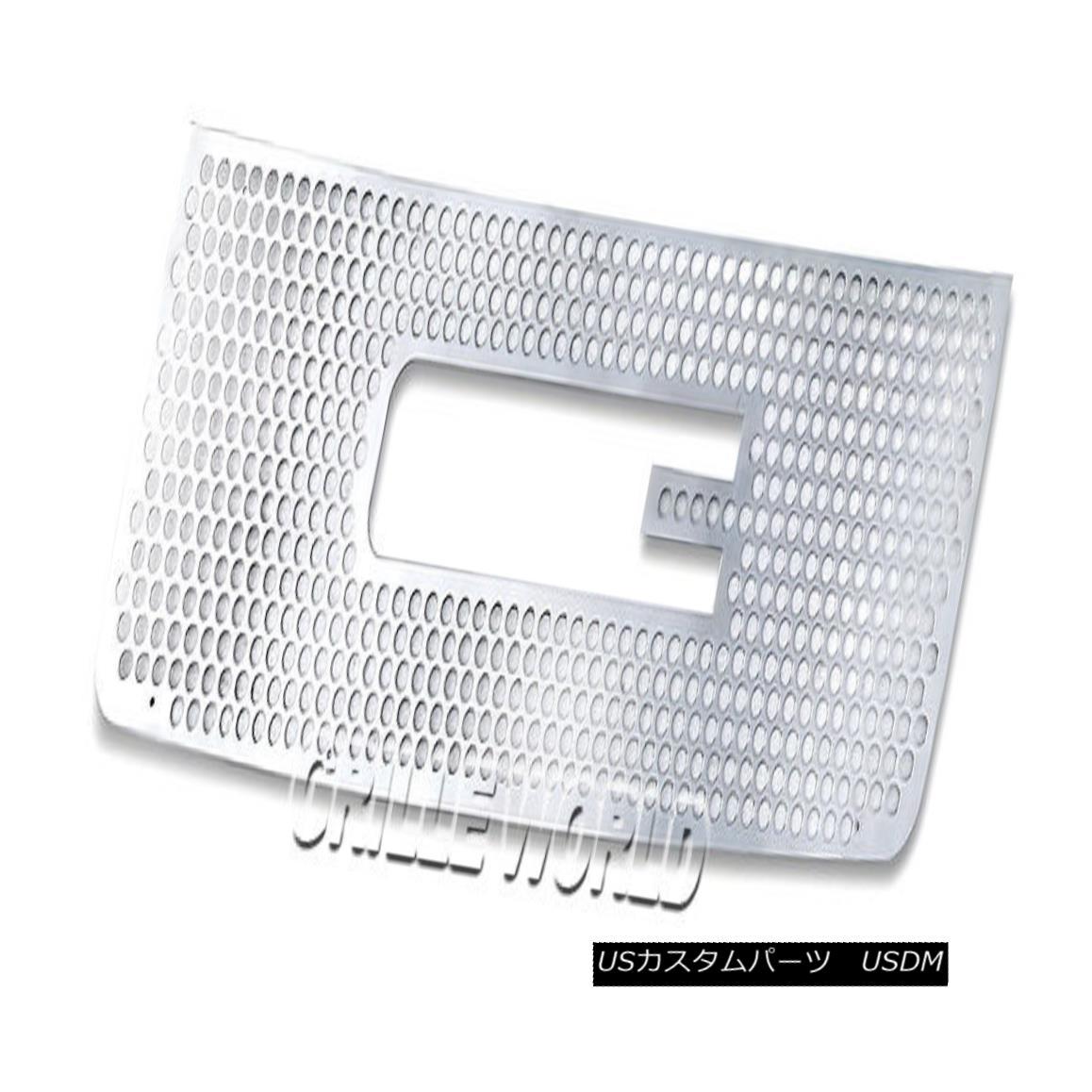 グリル For 07-10 GMC Sierra 2500/3500/HD Stainless Punch Premium Grille 07-10 GMC Sierra 2500/3500 / HDステンレスパンチプレミアムグリル用