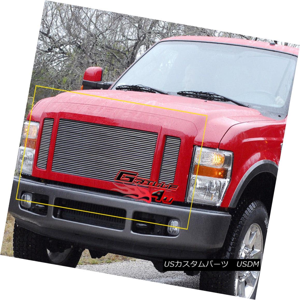 グリル For 08-10 Ford F250/F350/F450/F550 FX4 Billet Grille Insert 08-10 Ford F250 / F350 / F450 / F550 FX4ビレットグリルインサート