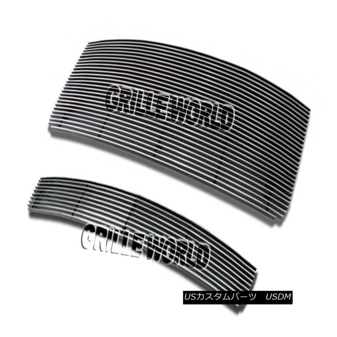 グリル For 07-10 GMC Sierra 2500HD/3500HD Billet Premium Grille Insert Combo 07-10 GMC Sierra 2500HD / 3500HDビレットプレミアムグリルインサートコンボ用