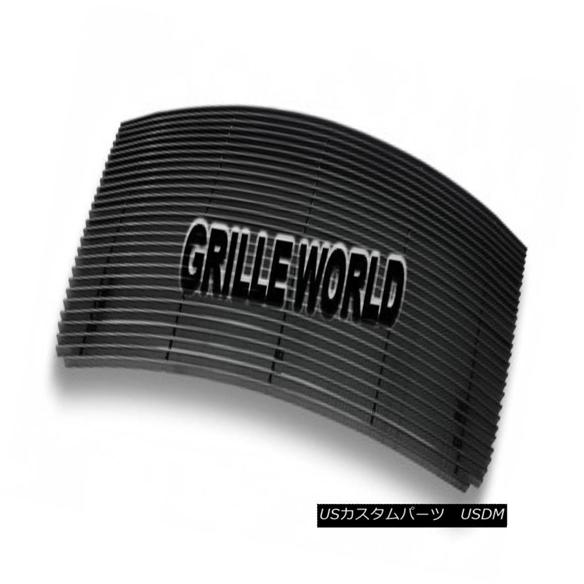 グリル For 07-2010 GMC Sierra 2500/3500 HD Black Billet Premium Grille Insert 07-2010 GMC Sierra 2500/3500 HD Black Billetプレミアムグリルインサート