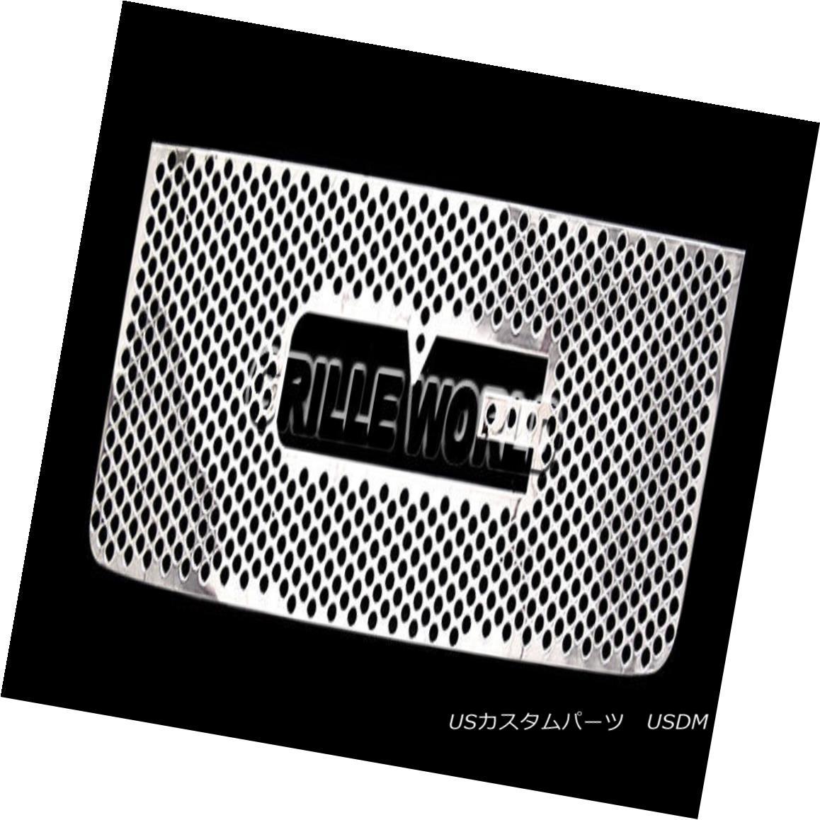 グリル For 2011-2014 GMC Sierra 2500/3500 Punch Premium Grille Insert 2011-2014 GMC Sierra 2500/3500パンチプレミアムグリルインサート