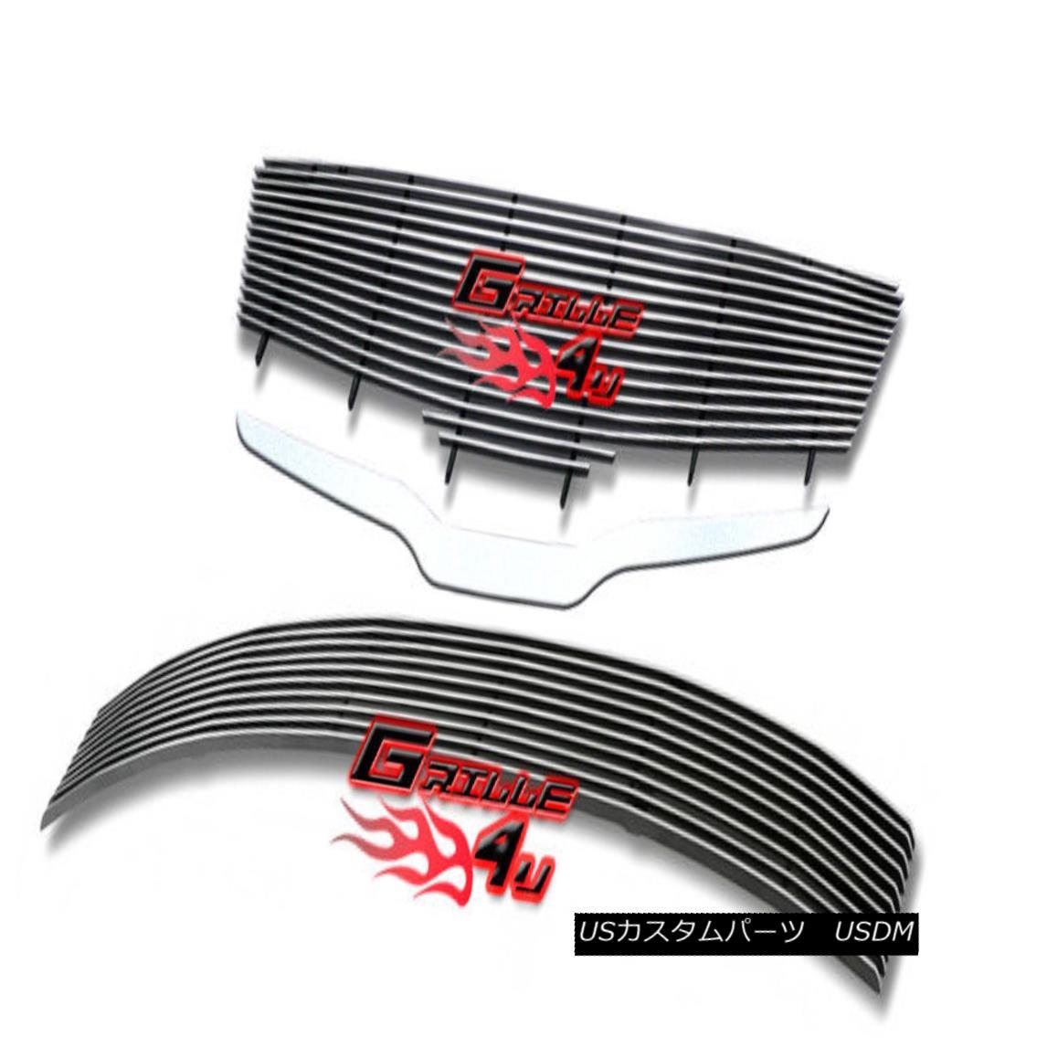 グリル For 2007-2009 Nissan Altima 4D 4Dr Billet Premium Grille Grill Combo Insert 日産アルティマ4D 4Drビレットプレミアムグリルグリルコンボインサート