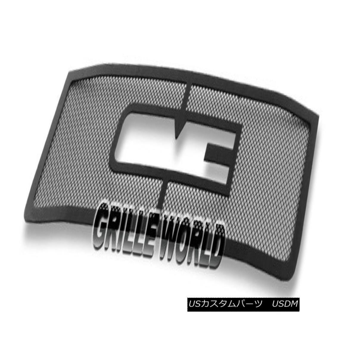 グリル 2011-2014 GMC Sierra 2500 3500 HD Black Stainless Steel Mesh Premium Grille 2011-2014 GMC Sierra 2500 3500 HDブラックステンレススチールメッシュプレミアムグリル