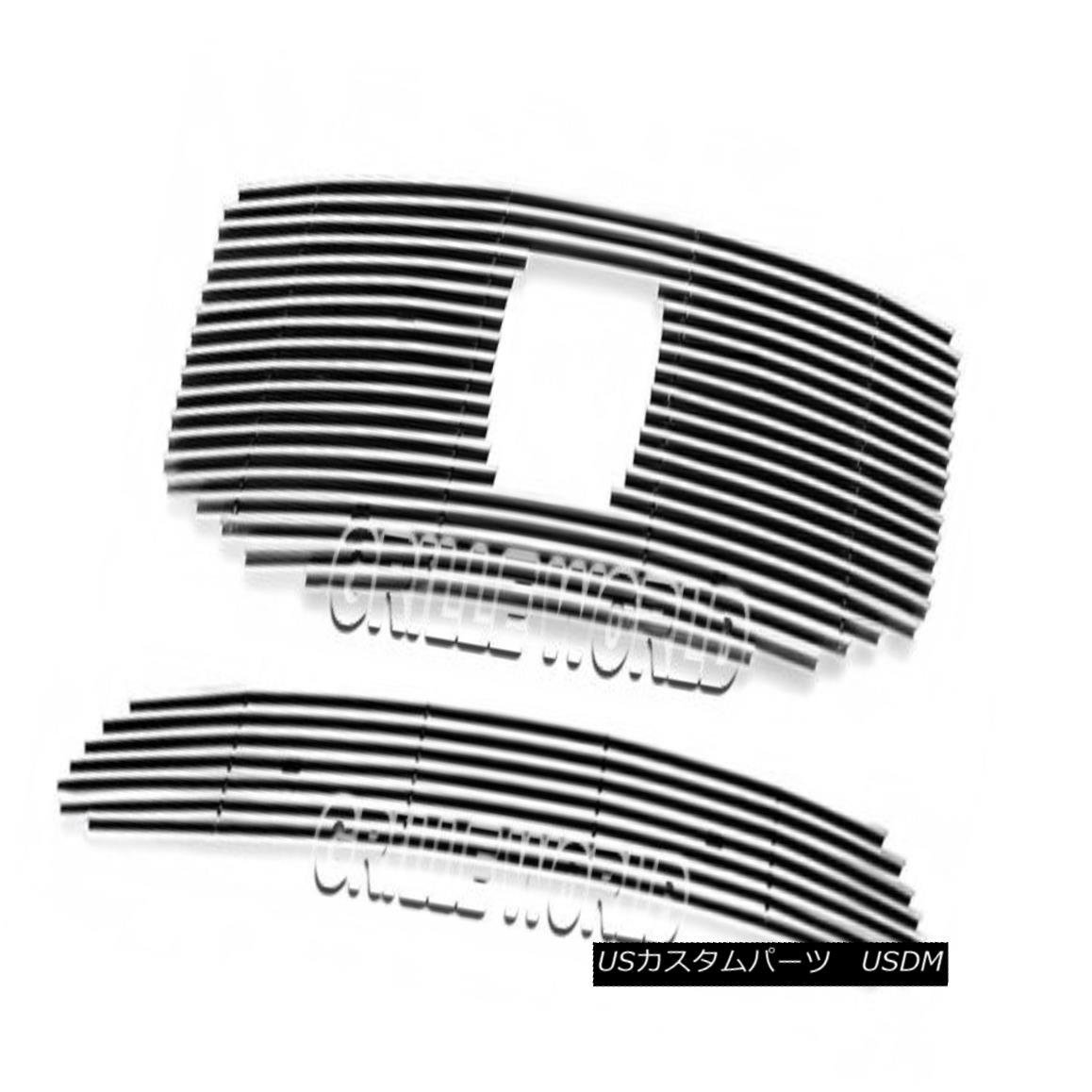 グリル For 2012-2013 Honda Pilot Billet Premium Grille Grill Insert Combo 2012-2013ホンダパイロットビレットプレミアムグリルグリルインサートコンボ用