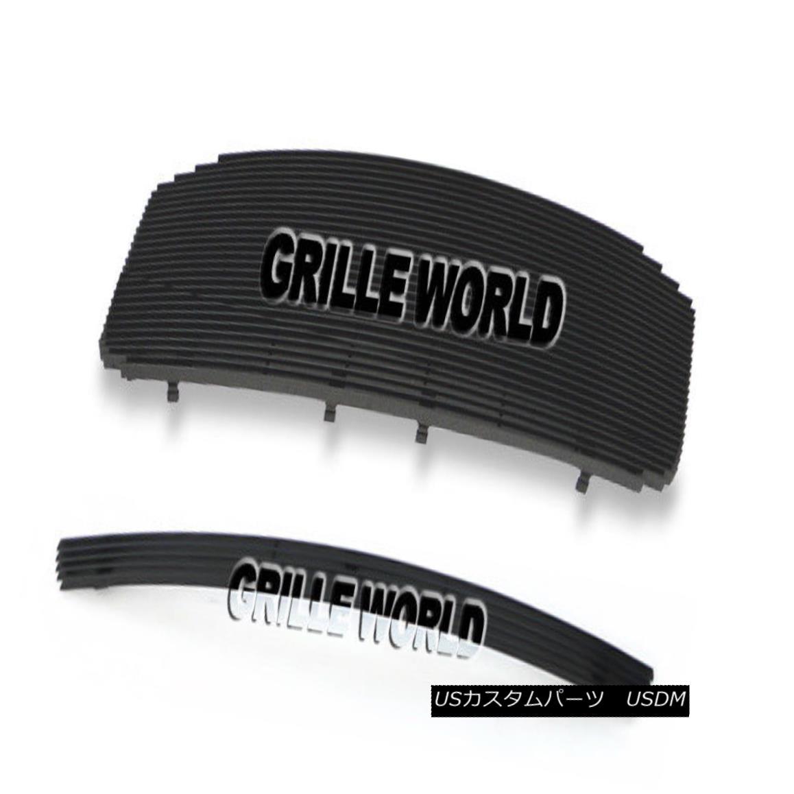 グリル For 06-08 Dodge Ram Regular Model Black Billet Premium Grille Combo 06-08ダッジラムレギュラーモデルブラックビレットプレミアムグリルコンボ用