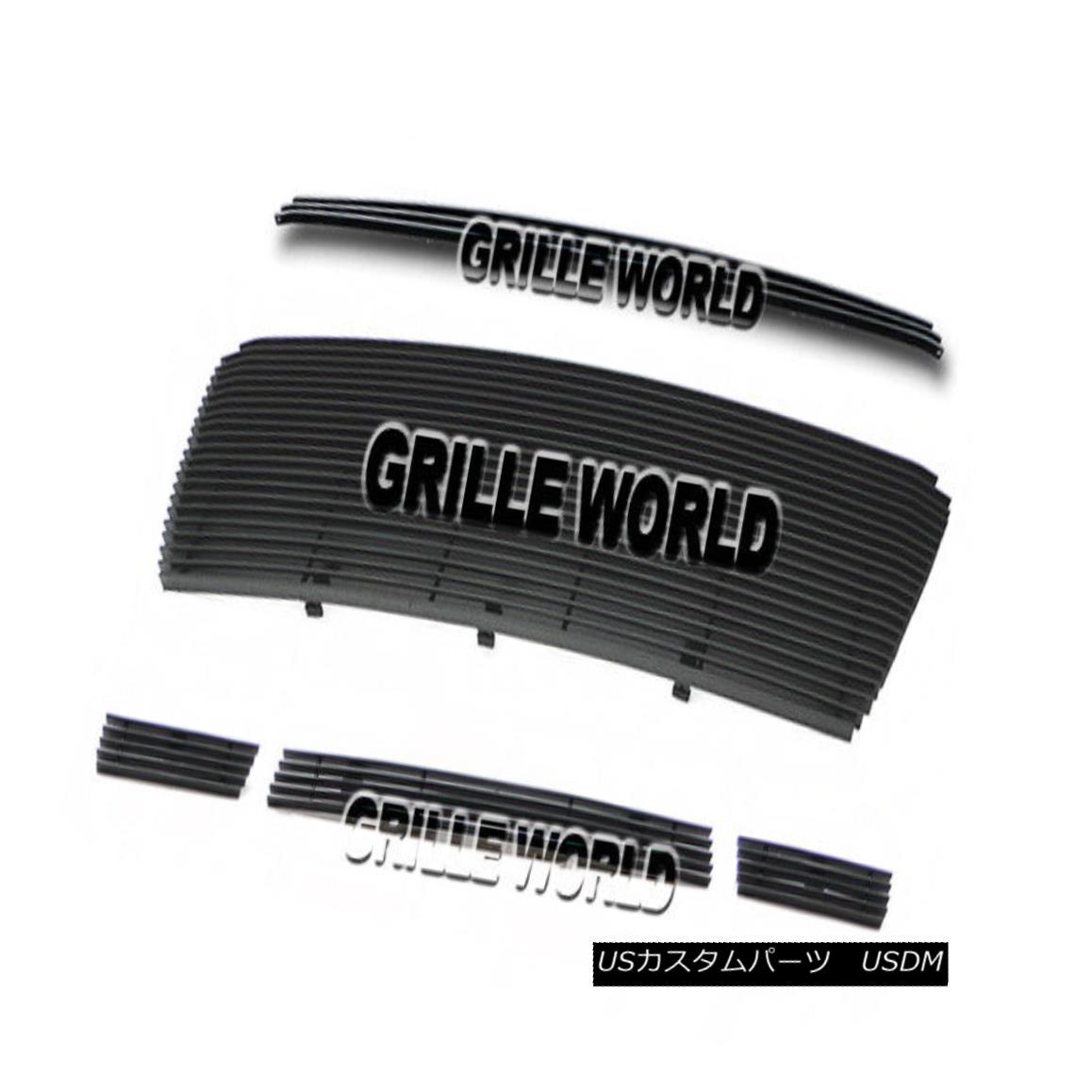 グリル For 10-11 Toyota Tundra Black Billet Premium Grille Combo Insert トヨタトンドラブラックビレットプレミアムグリルコンボインサート10-11用