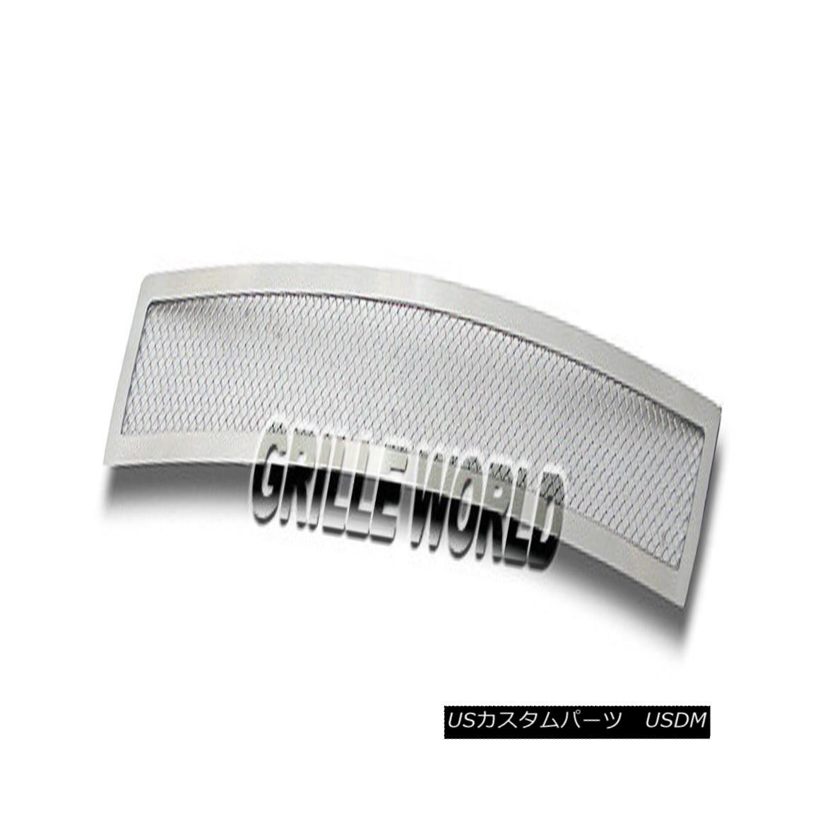 グリル For 2011-2012 Scion TC Bumper Stainless Steel Mesh Premium Grille Insert Scion TCバンパーステンレスメッシュプレミアムグリルインサート