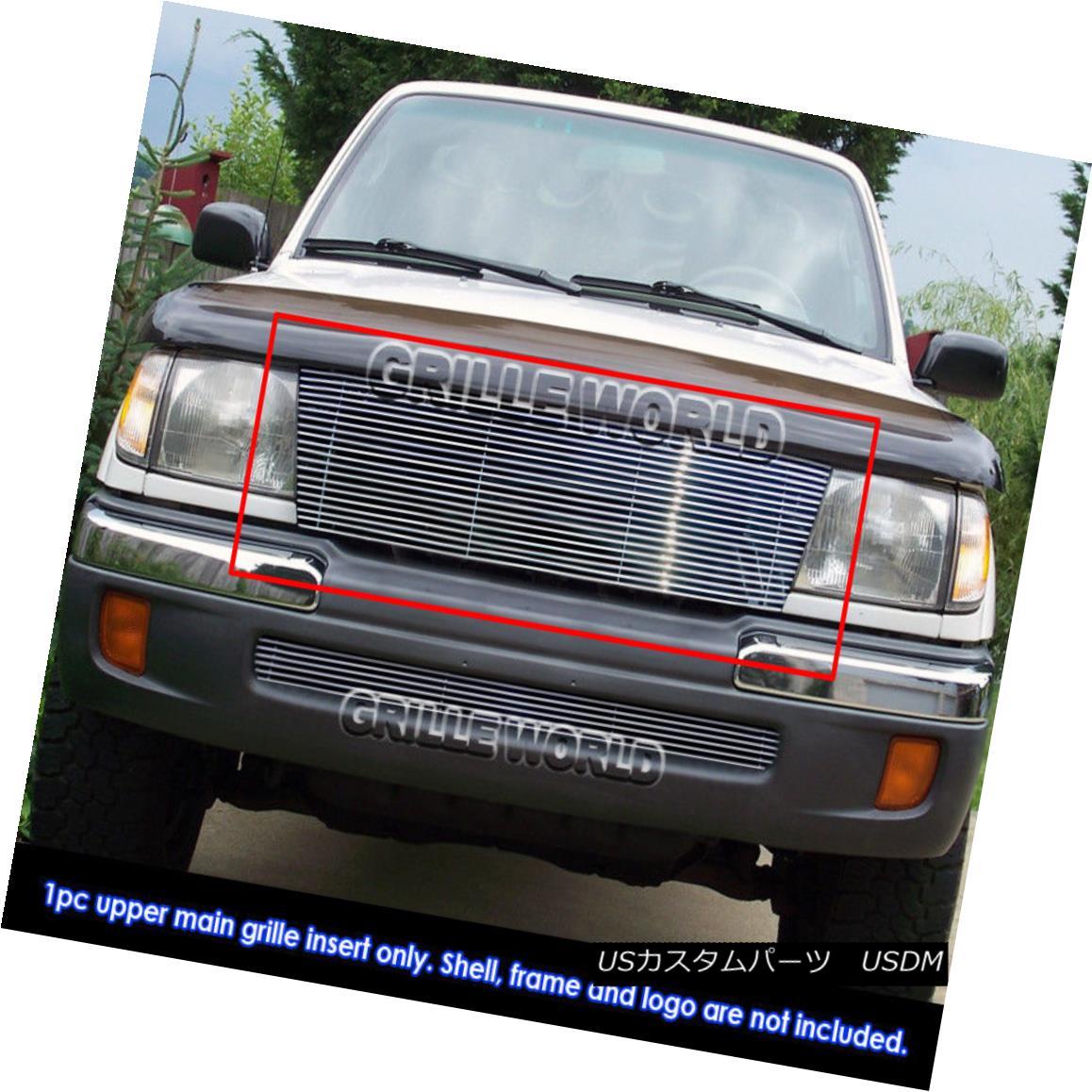 グリル 1997 Toyota Tacoma 2WD /1998-2000 Toyota Tacoma All Model Billet Grille Insert 1997トヨタタコマ2WD / 1998-2000トヨタタコマオールモデルビレットグリルインサート