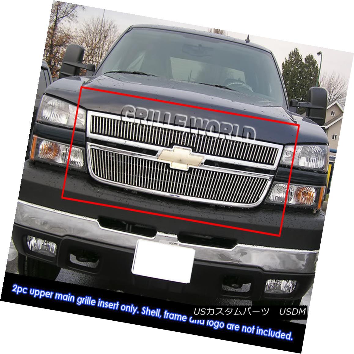 グリル For 2006 Chevy Silverado/SS 1500/05-06 2500 Billet Grille 2006年Chevy Silverado / SS 1500 / 05-06 2500 Billet Grille