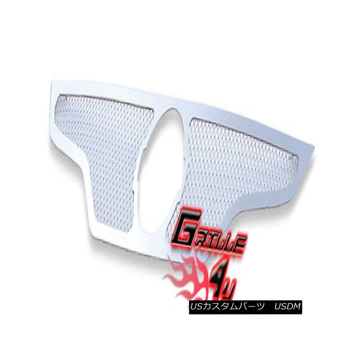 グリル For 2010-2012 Nissan Altima Coupe Stainless Steel Mesh Premium Grille Grill 日産アルティマクーペステンレススチールメッシュプレミアムグリルグリル