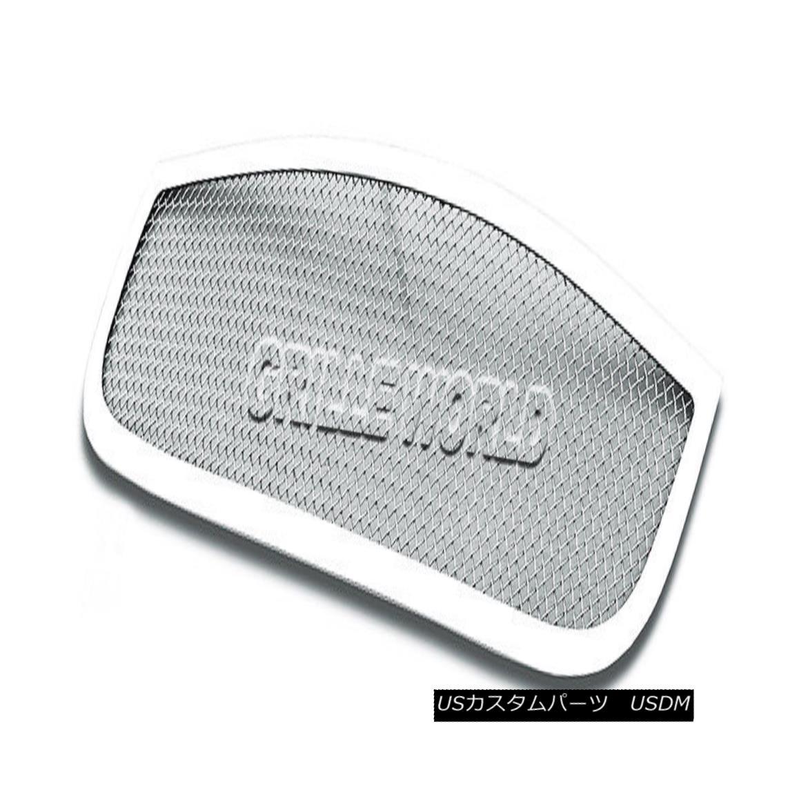 グリル For 2006-2011 Chevy HHR Stainless Steel Mesh Premium Grille Grill Insert 2006-2011シボレーHHRステンレスメッシュプレミアムグリルグリルインサート用