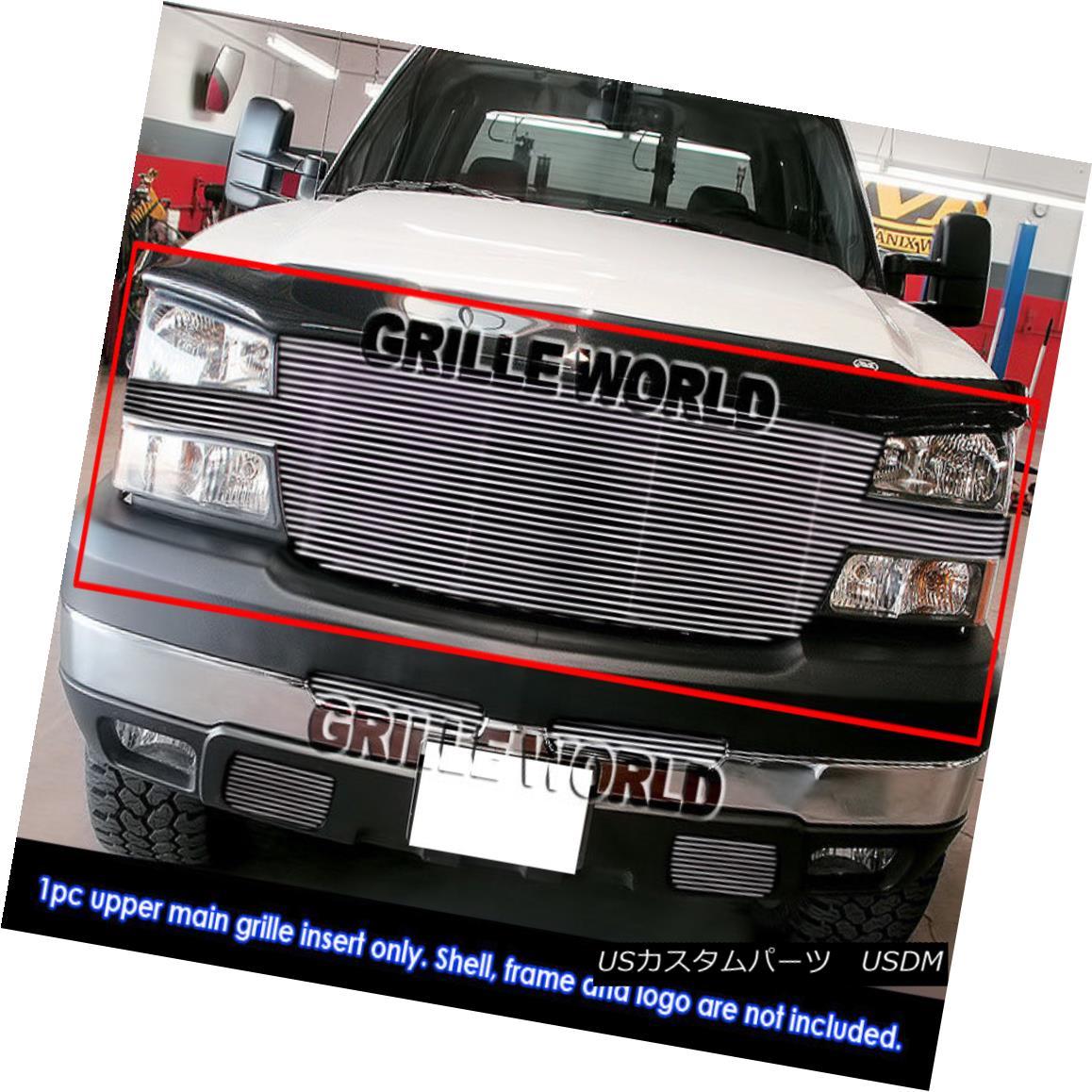 グリル For 05-06 Chevy Silverado 2500/3500 Billet Grille Insert 05-06 Chevy Silverado 2500/3500ビレットグリルインサート