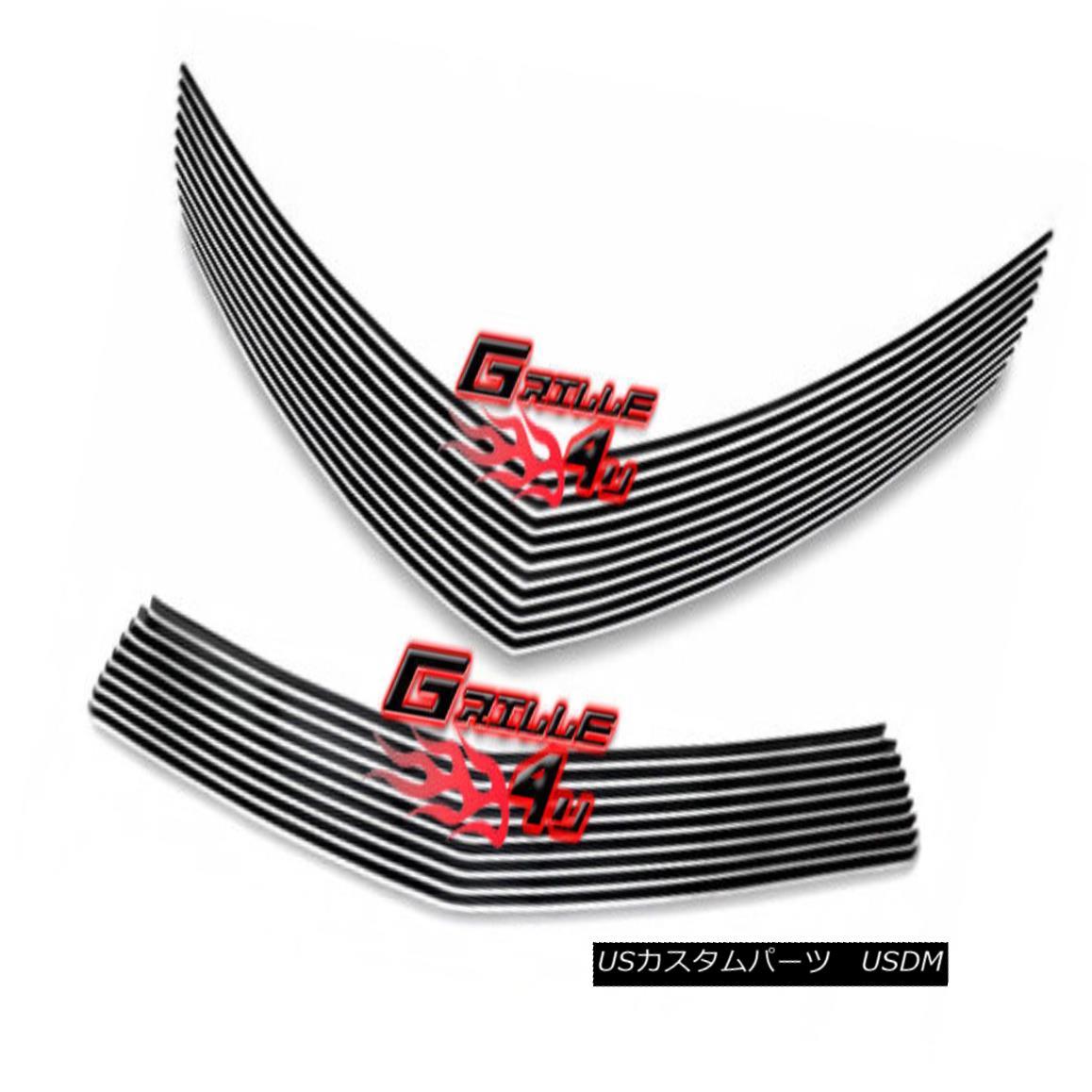 グリル 2010-2013 Chevy Camaro LT/LS V6 Phantom Style Billet Premium Grille Combo 2010-2013シボレーカマロLT / LS V6ファントムスタイルビレットプレミアムグリルコンボ