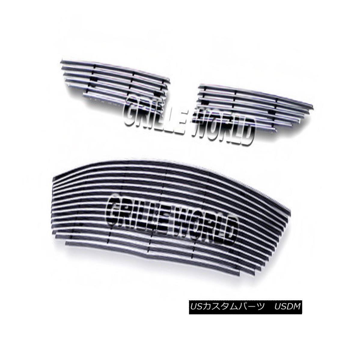 グリル For 2010-2012 Mazda CX-7 CX7 Billet Premium Grille Grill Combo Insert 2010-2012マツダCX-7 CX7ビレットプレミアムグリルグリルコンボインサート用