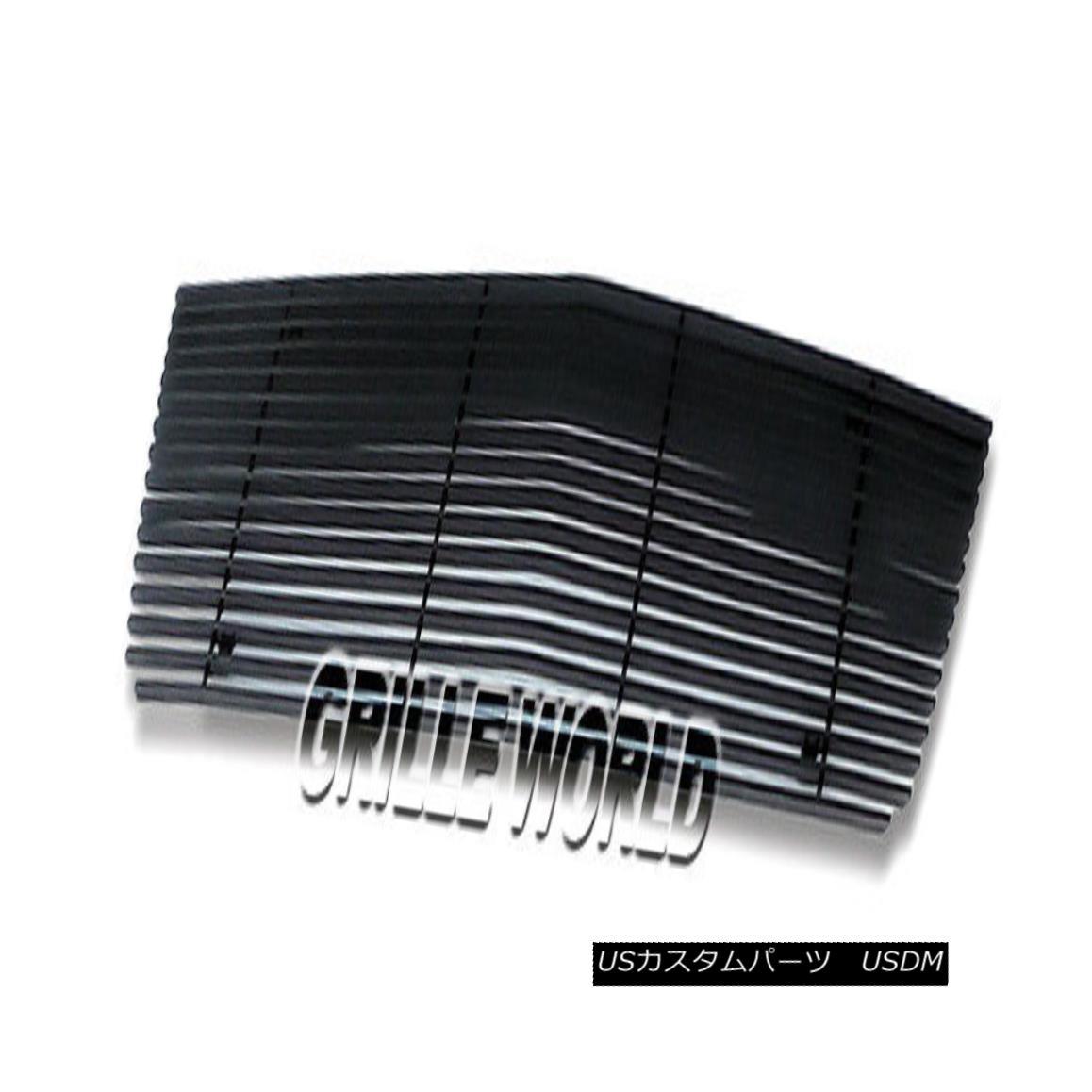 グリル Customized For 06-07 Ford Explorer Black Billet Premium Grille Insert フォードエクスプローラーブラックビレットプレミアムグリルインサート