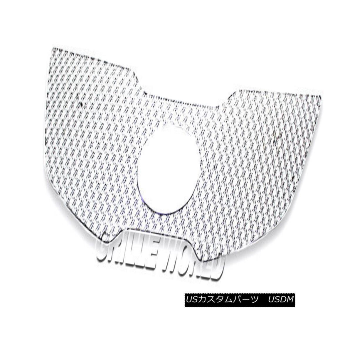 グリル For 11-2014 Kia Sportage Stainless Steel Double Wire X Mesh Premium Grille 11-2014年起亜SportageステンレススチールダブルワイヤーXメッシュプレミアムグリル