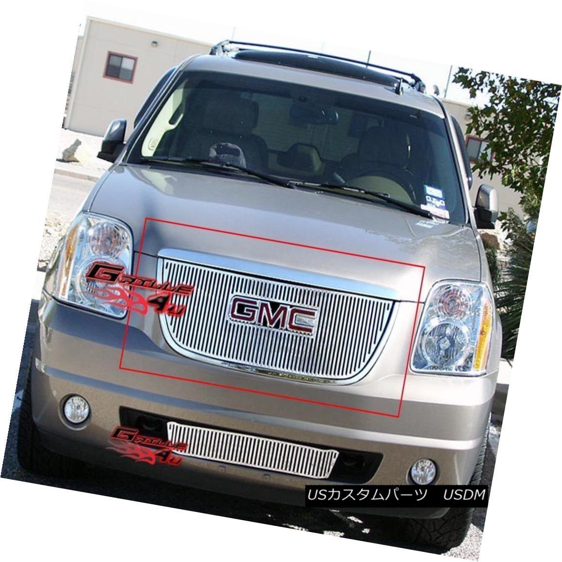 グリル For 07-11 2011 GMC Yukon Perimeter Grille Insert 2011年7月11日、GMC Yukonペリメーターグリルインサート