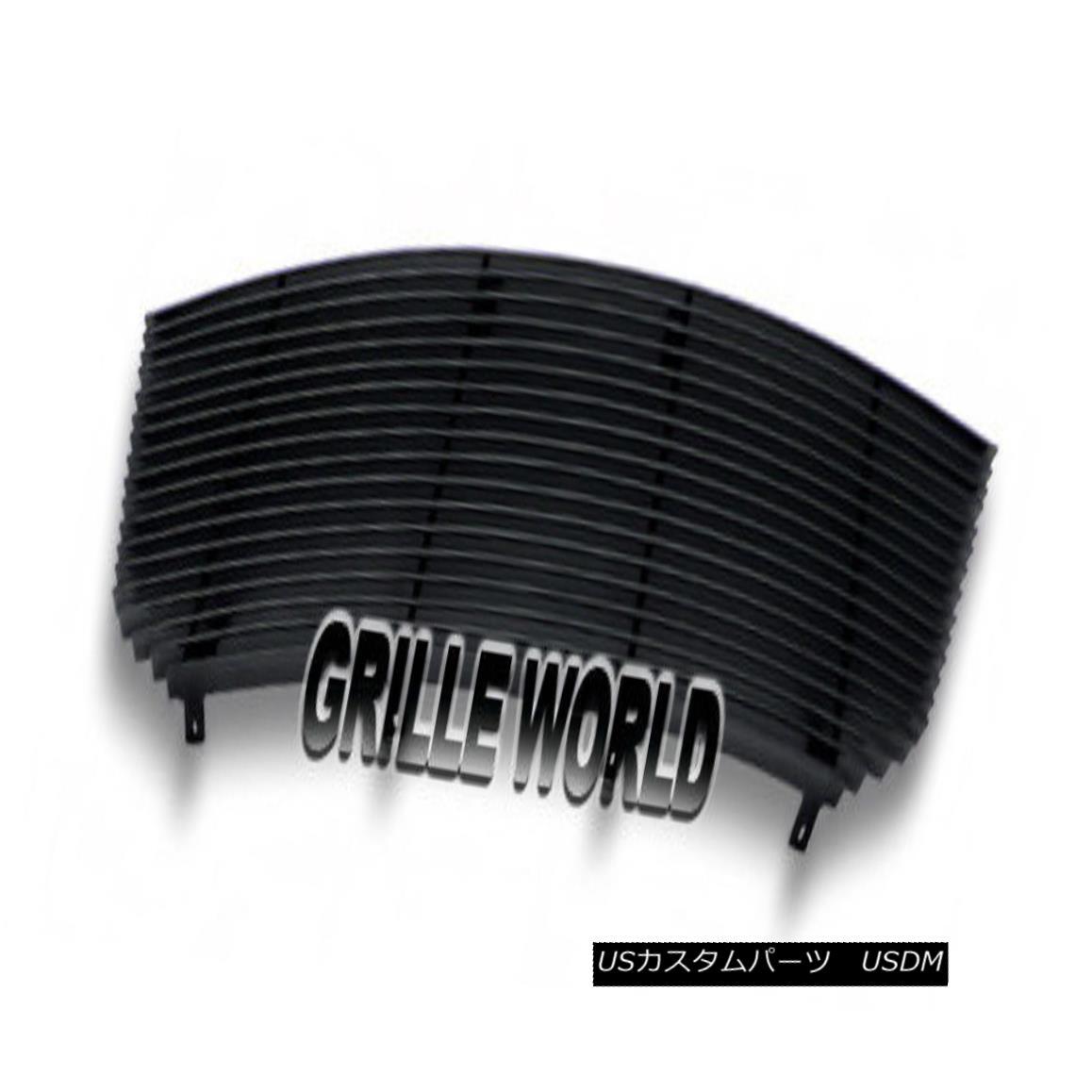 グリル For 2007-2010 Dodge Avenger Black Billet Premium Grille Grill Insert 2007-2010年ダッジアベンジャーブラックビレットプレミアムグリルグリルインサート
