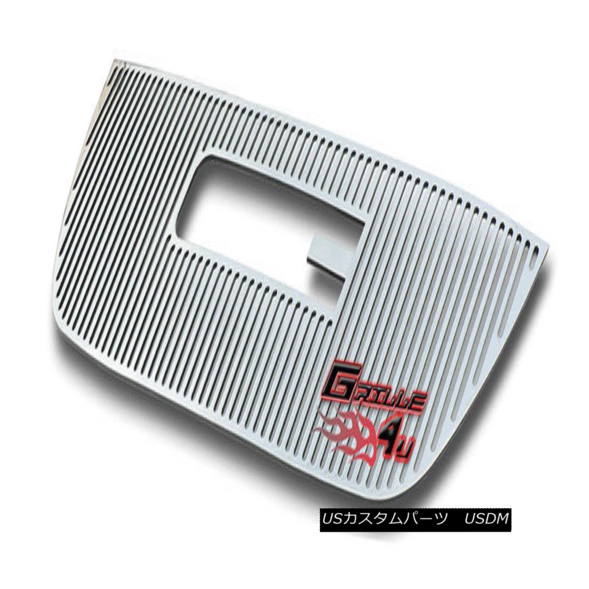 グリル Customized For 07-11 2011 GMC Yukon Perimeter Premium Grille Insert 2011年7月11日にカスタマイズされたGMC Yukon Perimeterプレミアムグリルインサート