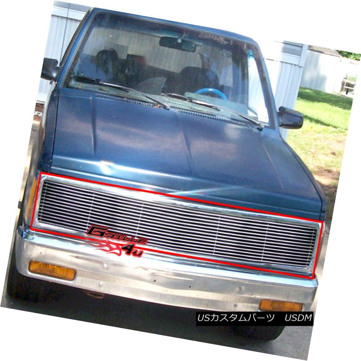 グリル For 91-93 Chevy S10/Blazer 91-94 Jimmy Phantom Billet Grill 91-93 Chevy S10 / Blazer 91-94ジミーファントムビレットグリル