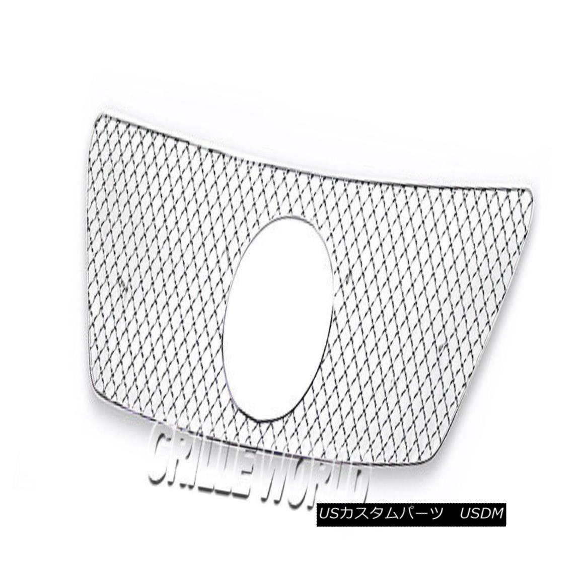 グリル For 2012-2013 Lexus IS 250/350 Stainless Steel X-mesh Premium Grille Insert 2012-2013 Lexus IS 250/350ステンレススチールXメッシュプレミアムグリルインサート