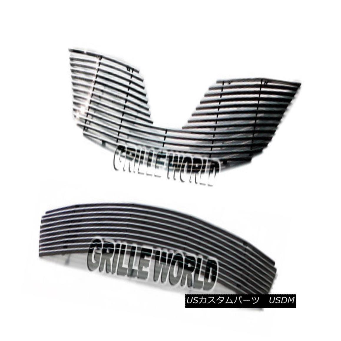 グリル For 2011-2012 Toyota Corolla Billet Premium Grille Combo Insert 2011年?2012年トヨタカローラビレットプレミアムグリルコンボインサート