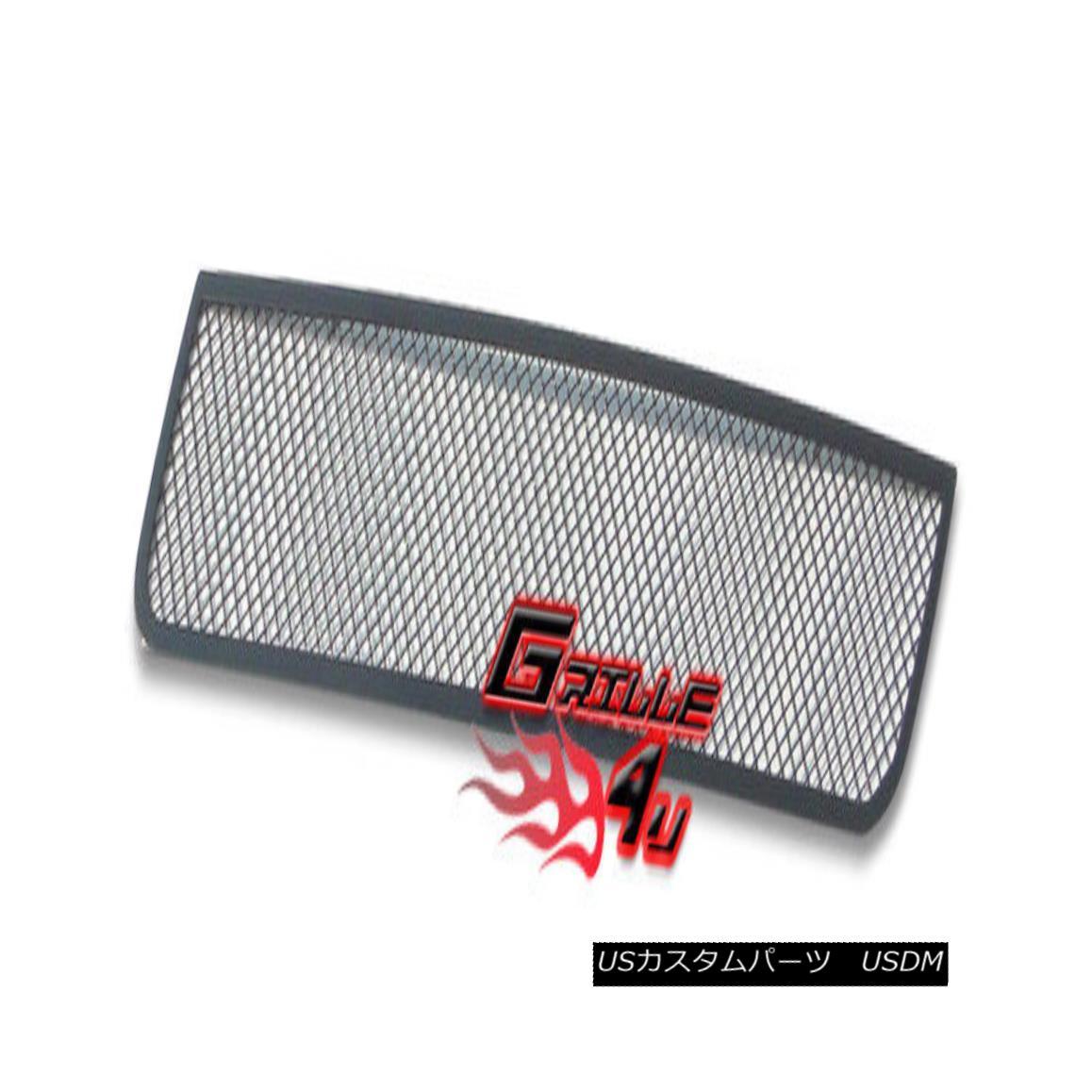 グリル For 03-04 Lincoln Navigator Bumper Black Mesh Premium Grille Insert 03-04リンカーンナビゲーターバンパーブラックメッシュプレミアムグリルインサート
