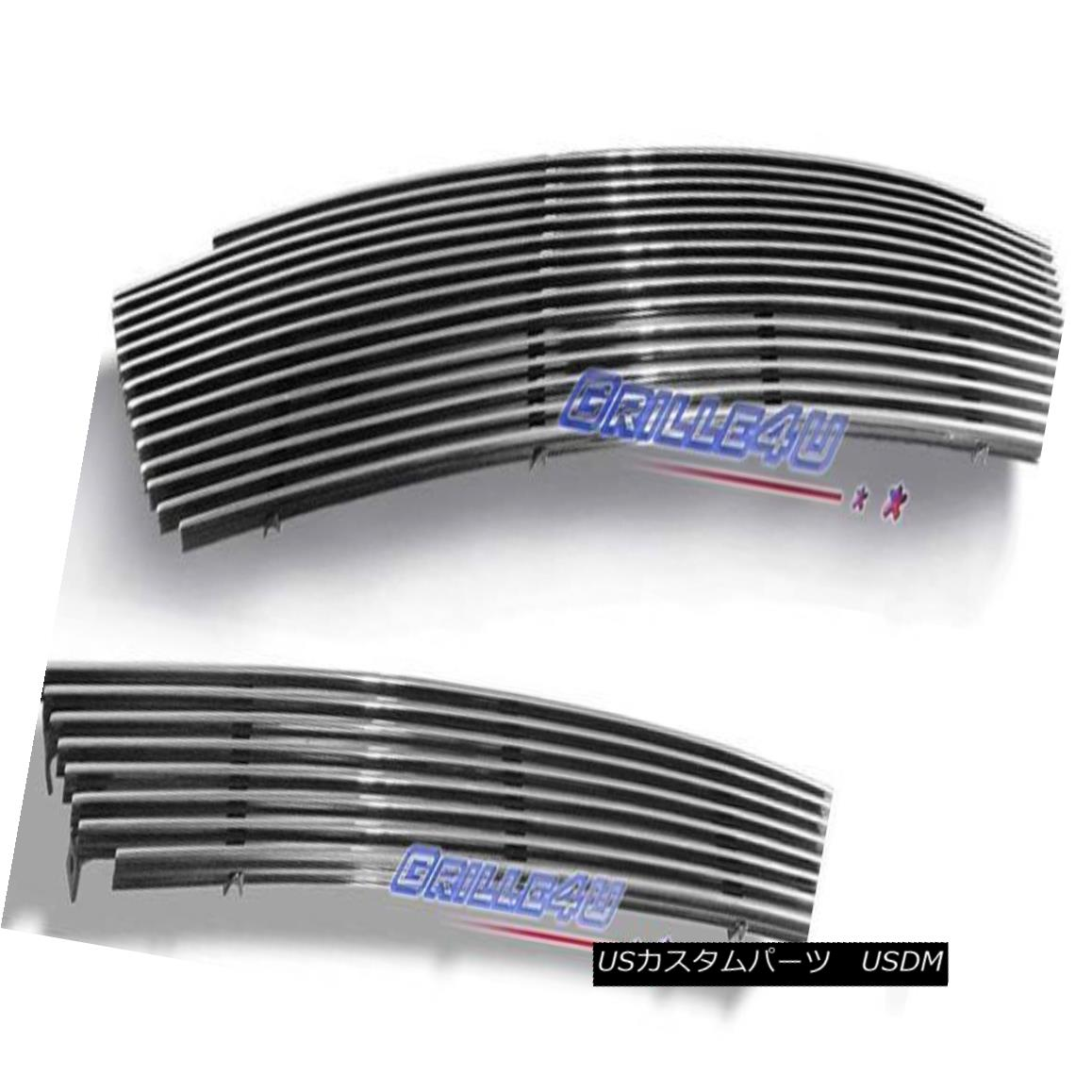グリル Customized For 03-06 Lincoln Aviator Billet Premium Grille Combo Insert 03-06リンカーンアビエータービレットプレミアムグリルコンボインサート