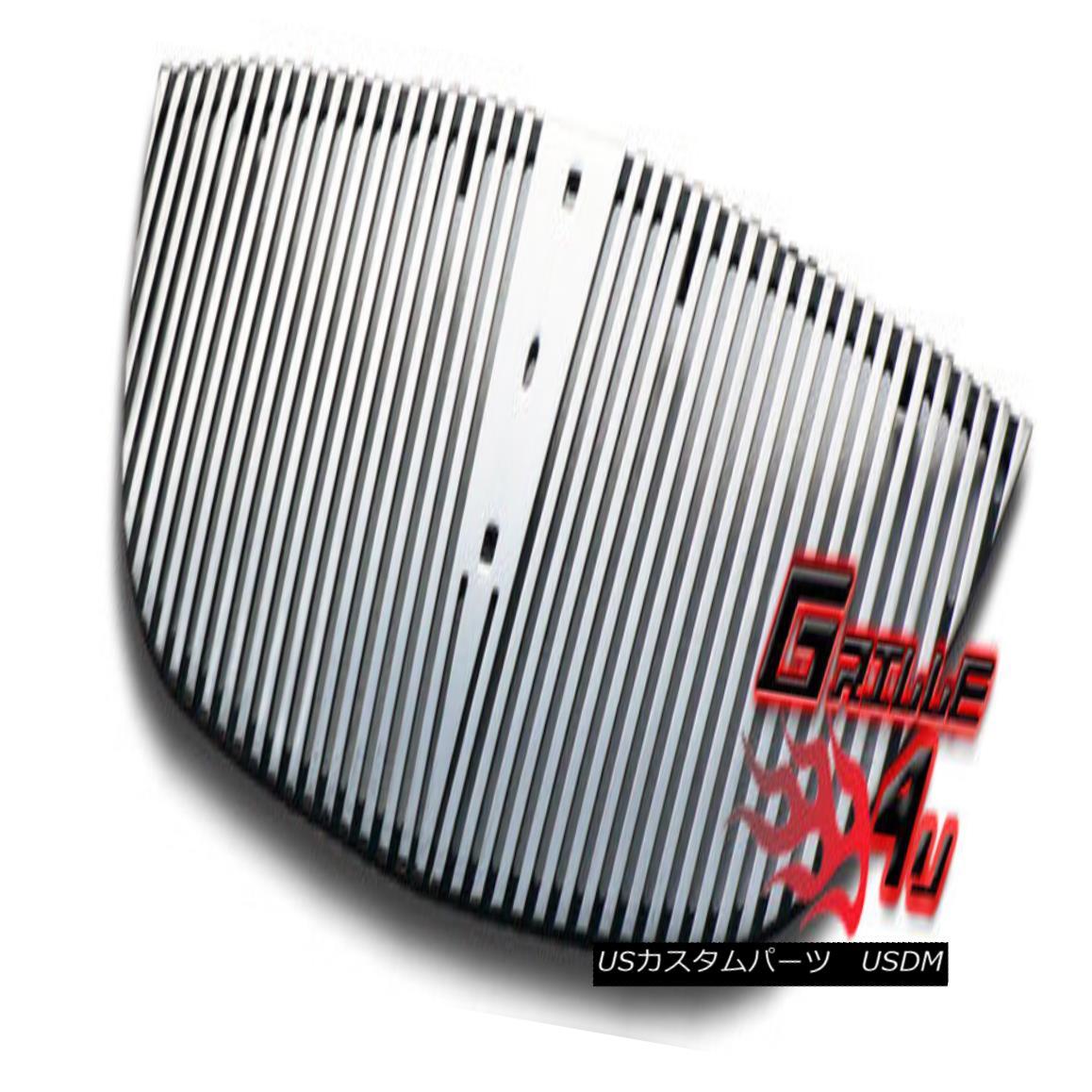 グリル Customized For 00-02 Lincoln LS Perimeter Premium Grille Insert 00-02リンカーンLSペリメータープレミアムグリルインサート用にカスタマイズ