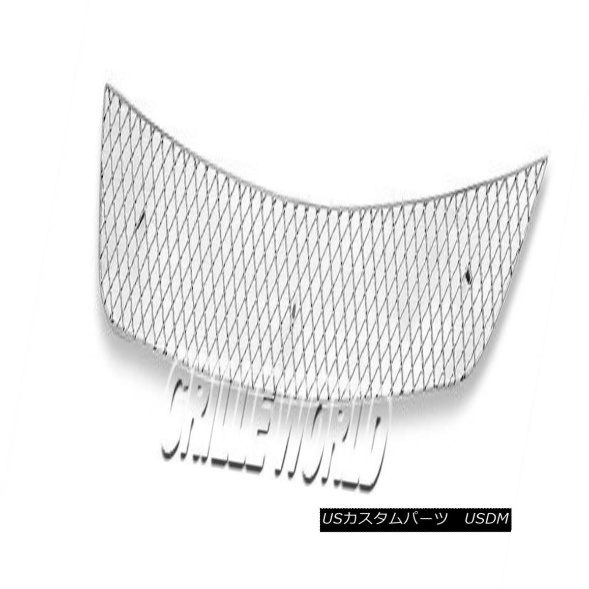 グリル For 2011-2015 Toyota Matrix Stainless Steel X Mesh Grille Insert 2011-2015トヨタマトリクスステンレス鋼Xメッシュグリルインサート