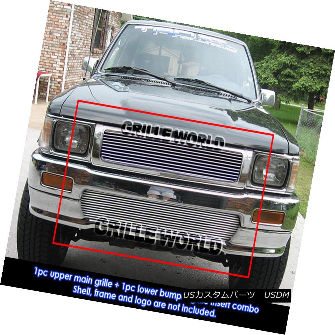 グリル For 1992-1994 Toyota Pickup Truck 4WD Billet Grille Grill Insert 1992-1994 Toyota Pickup Truck 4WDビレットグリルグリルインサート