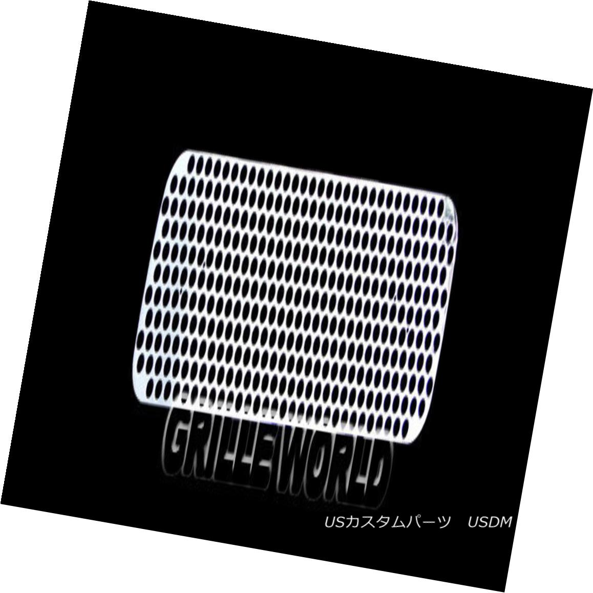 グリル For 04-07 Nissan Armada/04-2015 Titan Stainless Steel Punch Sheet Grille Grill 04-07日産アルマダ/ 04-2015タイタンステンレスパンチシートグリルグリル