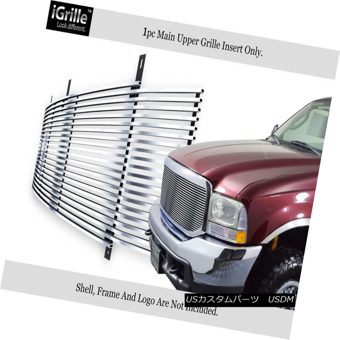 グリル For 99-04 00 Ford F250 F350 SuperDuty Stainless Steel Billet Grille Grill 99-04 00 Ford F250 F350 SuperDutyステンレス鋼ビレットグリルグリル用