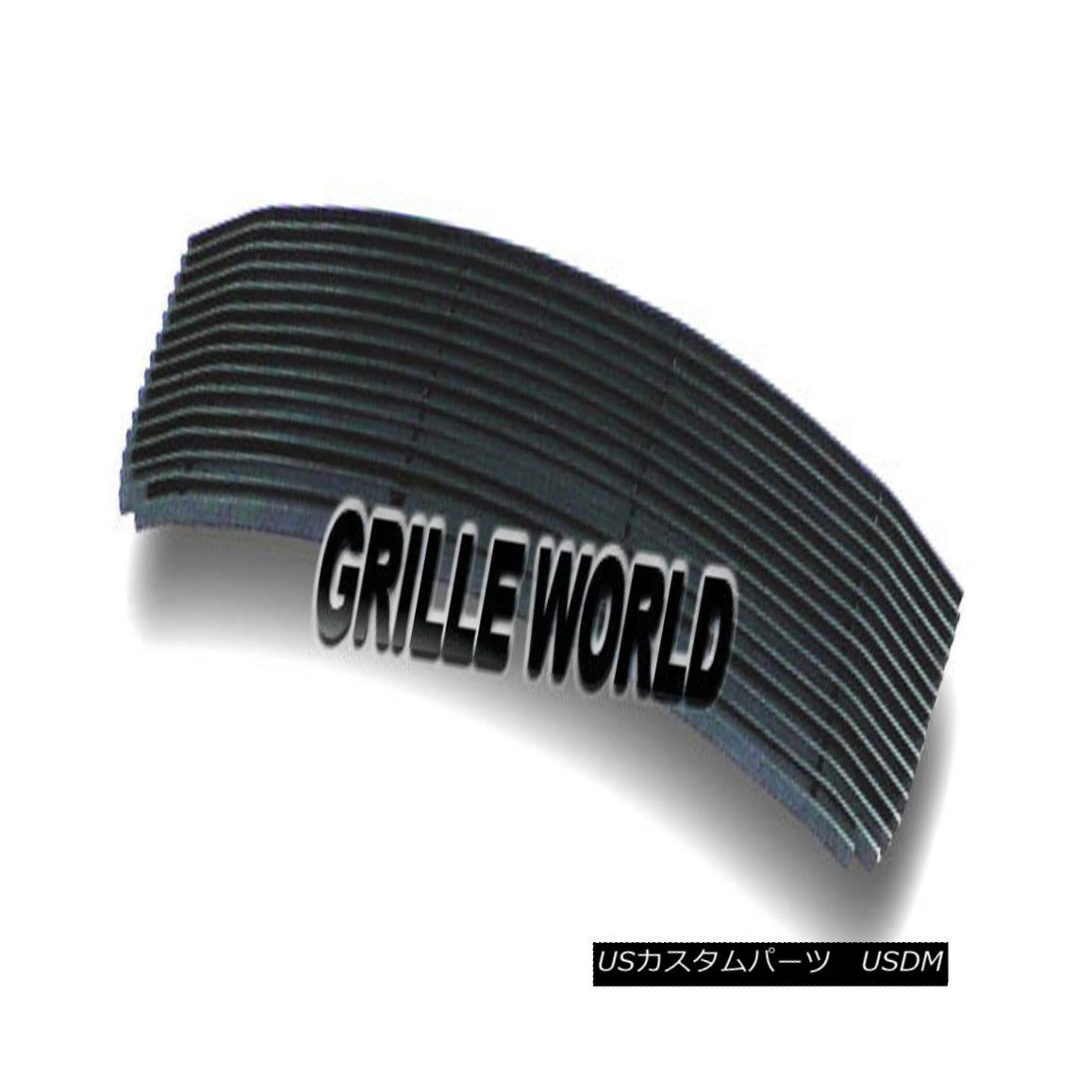 グリル For 06-09 Ford Fusion Bumper Black Billet Premium Grille Insert 06-09フォードフュージョンバンパーブラックビレットプレミアムグリルインサート