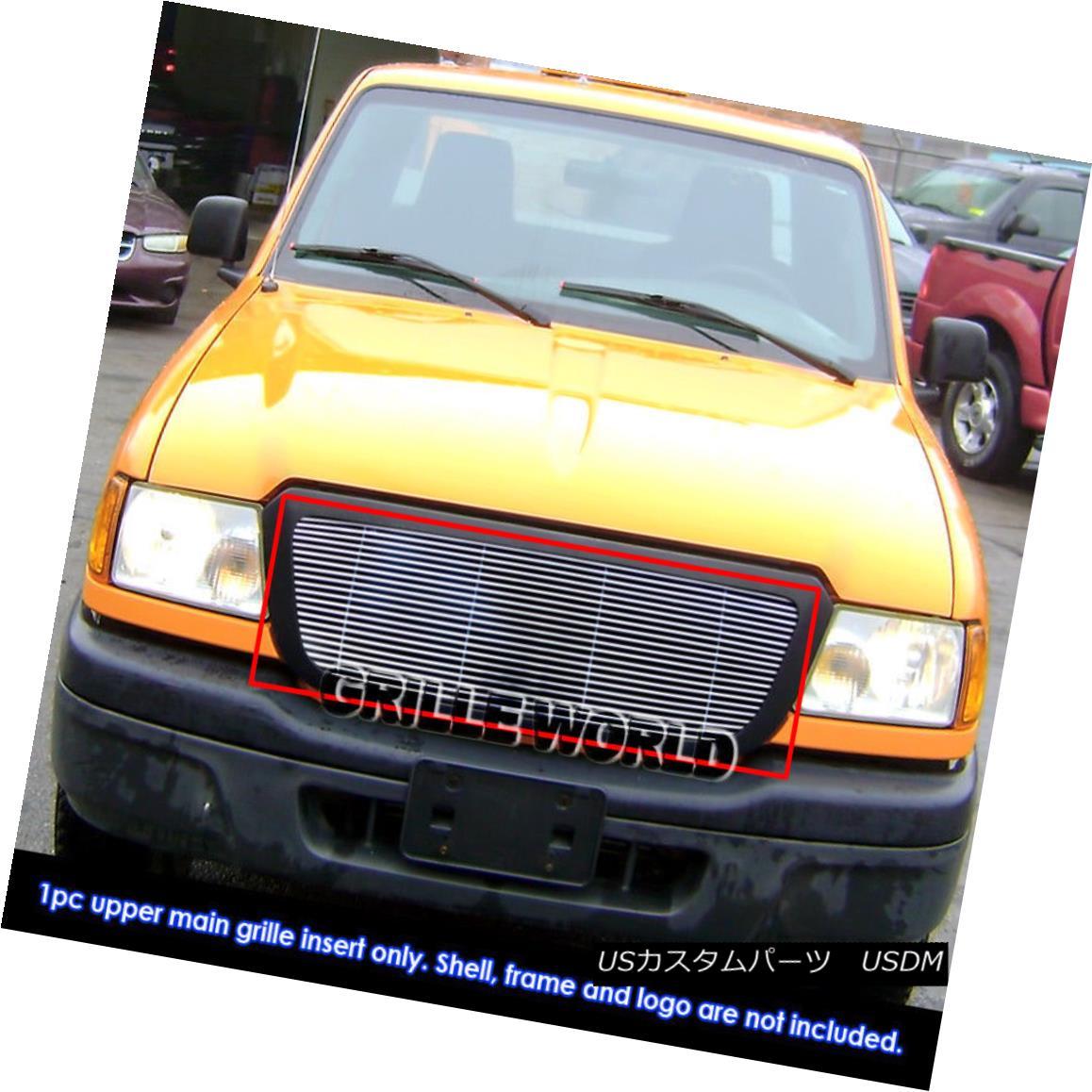グリル For 04-05 Ford Ranger All Model Billet Grille Insert 04-05 For Ford Ranger All Model Billet Grille Insert