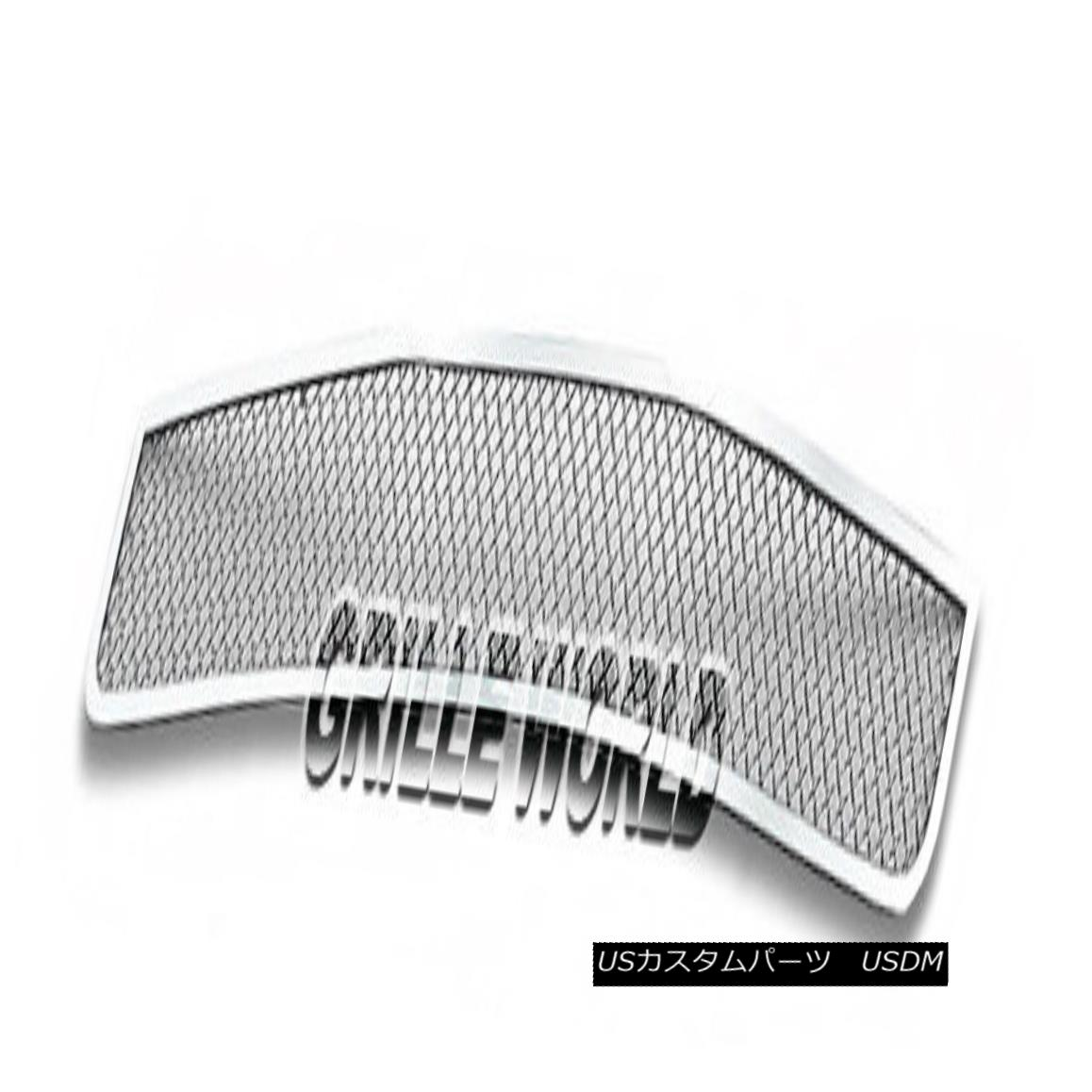 グリル For 08-10 Honda Accord Coupe Bumper Stainless Mesh Premium Grille 08-10ホンダアコードクーペバンパーステンレスメッシュプレミアムグリル