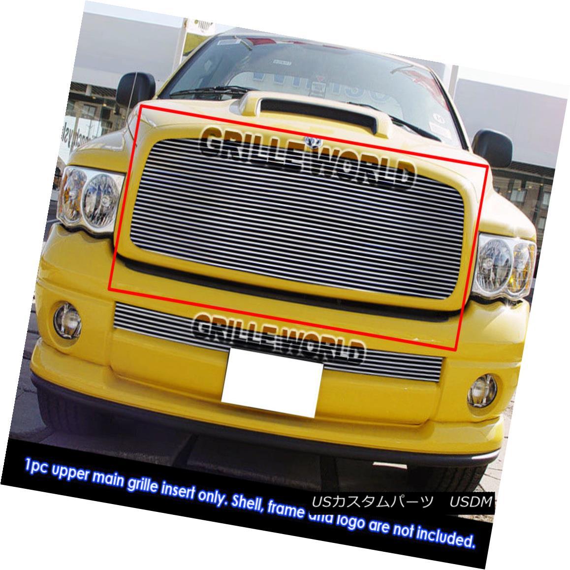 グリル For 02-05 Dodge Ram 1500/2500/3500 Billet Grille Insert 02-05 Dodge Ram 1500/2500/3500用ビレットグリルインサート