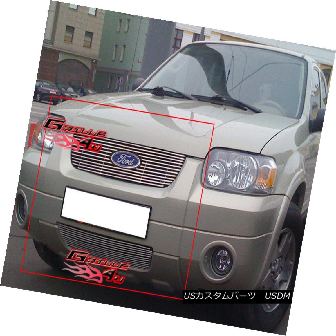 グリル For 05-07 Ford Escape Billet Grille Combo Insert 05-07 Ford Escapeビレットグリルコンボインサート