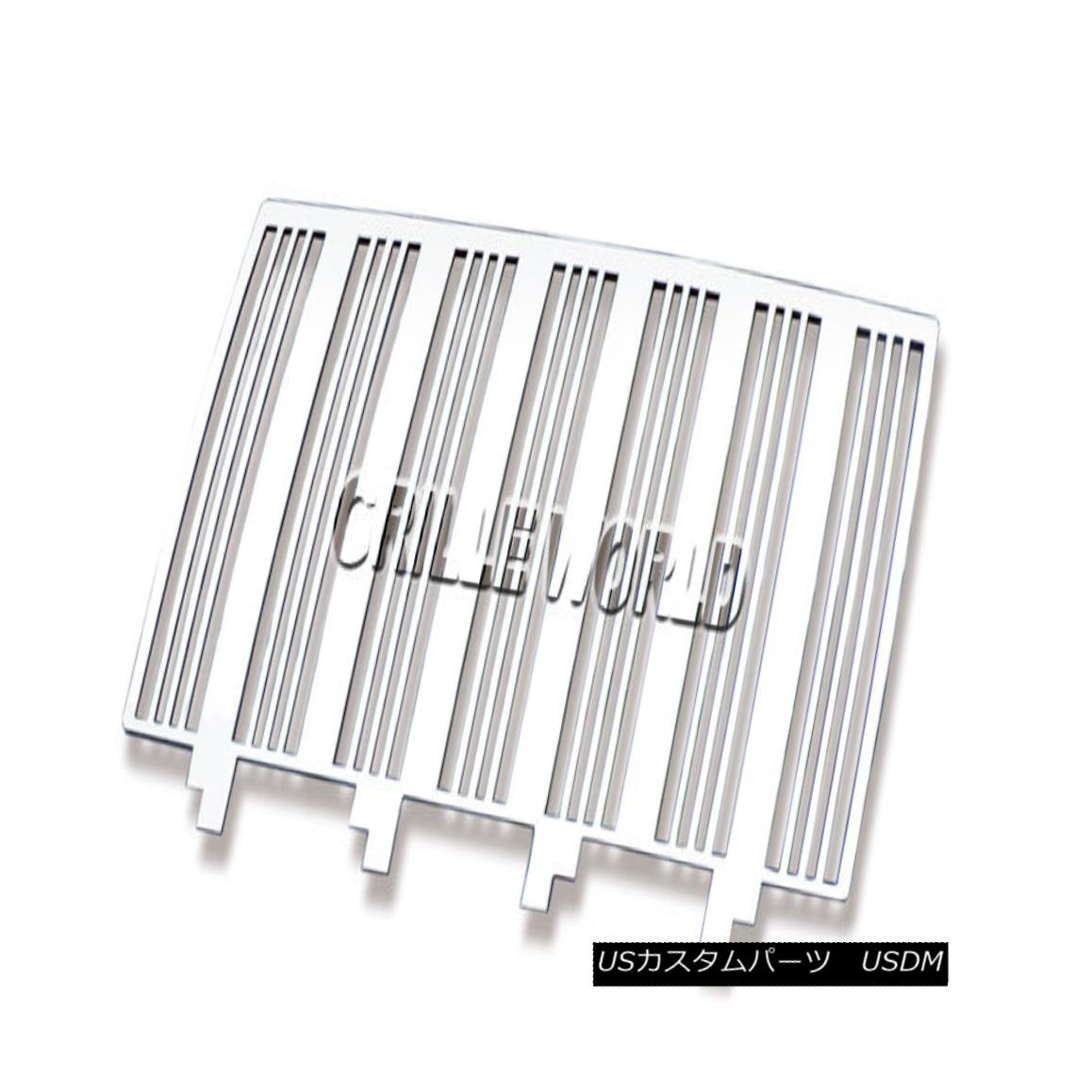 グリル For 2007-2017 Jeep Wrangler Vertical Perimeter CNC Cut Grille nsert 2007-2017ジープラングラー垂直周縁CNCカットグリルインサート
