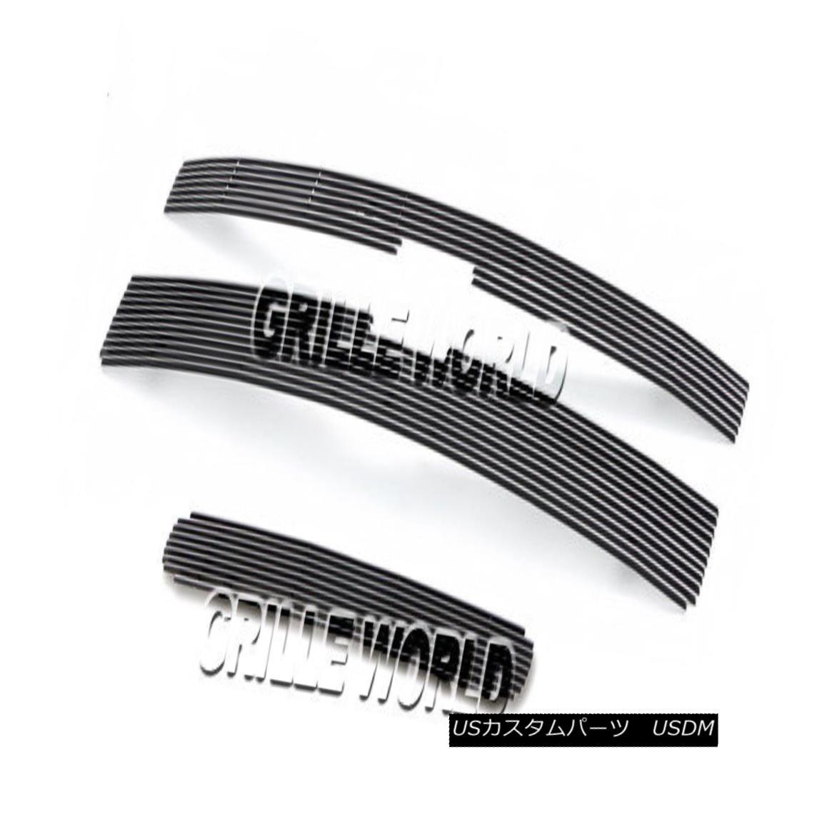 グリル For Chevy Silverado 2500HD/3500HD Billet Premium Grille Grill Combo 2011-2014 Chevy Silverado 2500HD / 3500HDビレットプレミアムグリルグリルコンボ2011-2014