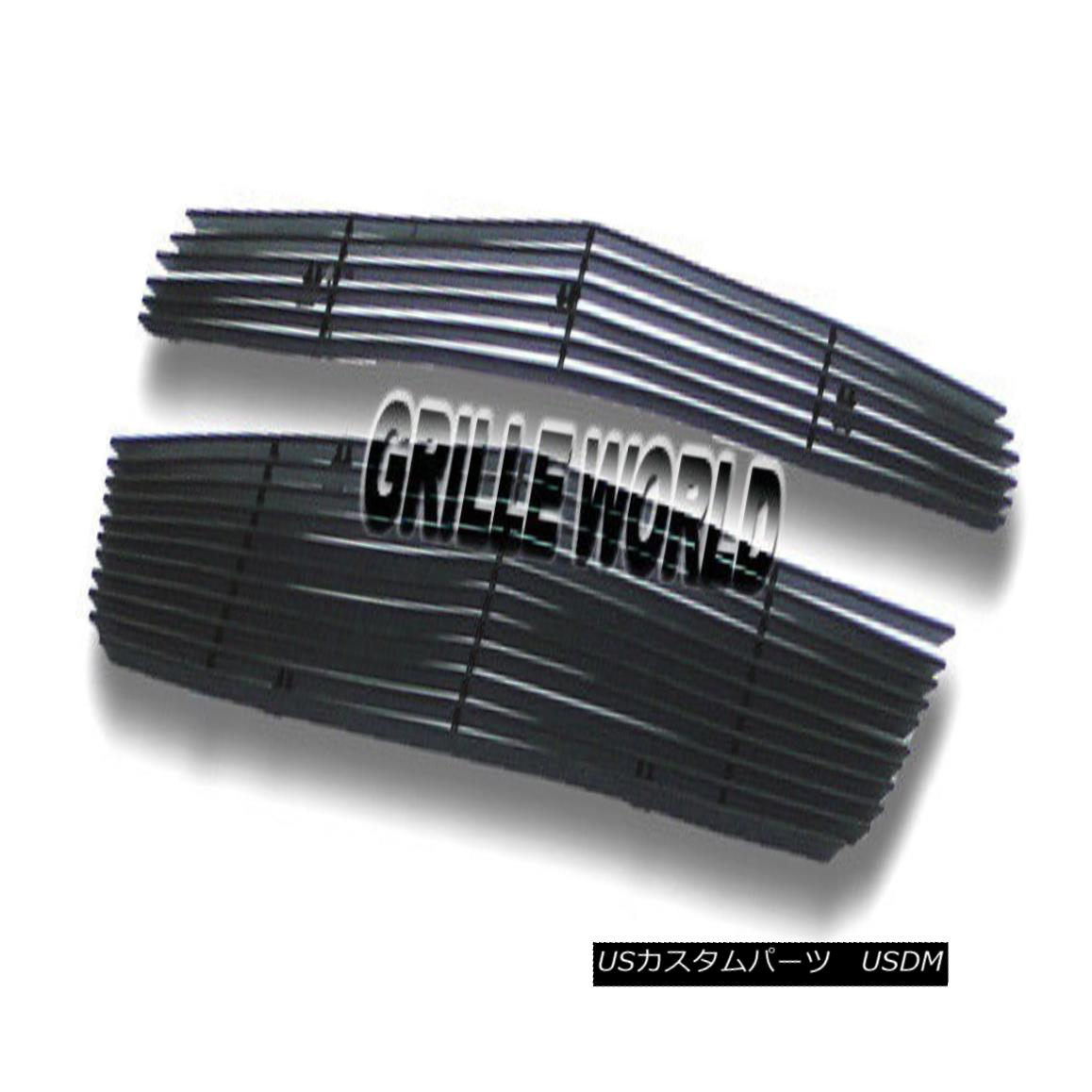 グリル For 2010-2015 Chevy Equinox Black Billet Grille Grill Insert 2010-2015シボレーエクイノックスブラックビレットグリルグリルインサート用
