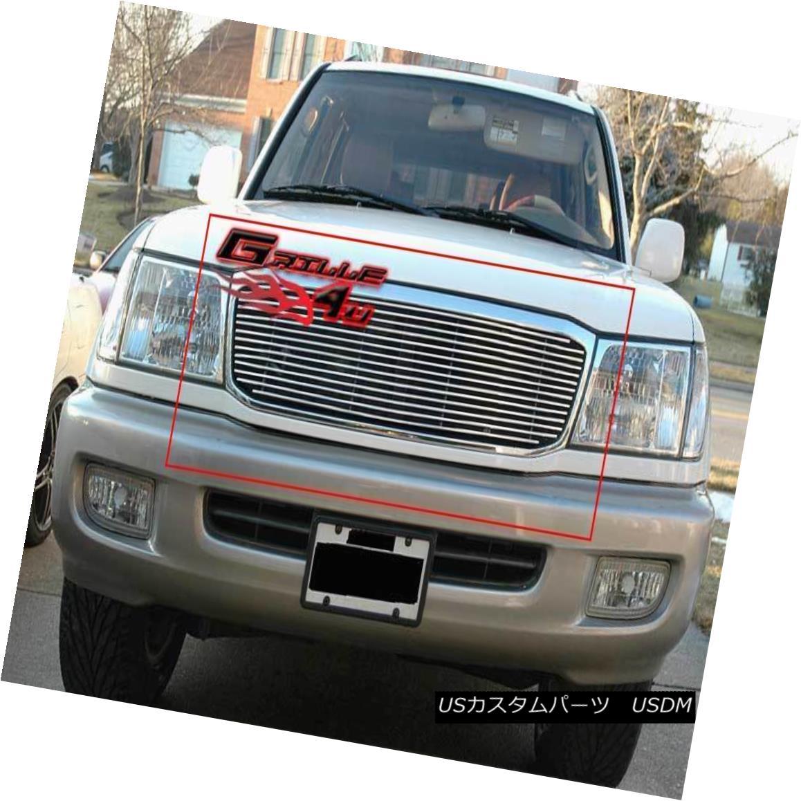 グリル For 99-02 Toyota Land Cruiser Billet Grille Insert 99-02用トヨタランドクルーザービレットグリルインサート