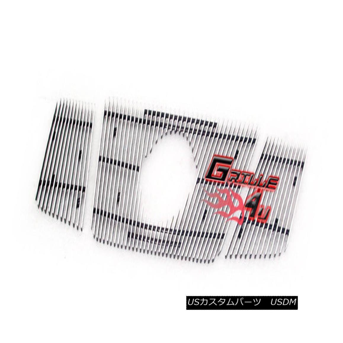グリル For 2008-2015 Nissan Armada Vertical Billet Grille Insert With Logo Show 日産アルマダ縦型ビレットグリルインサートロゴショー